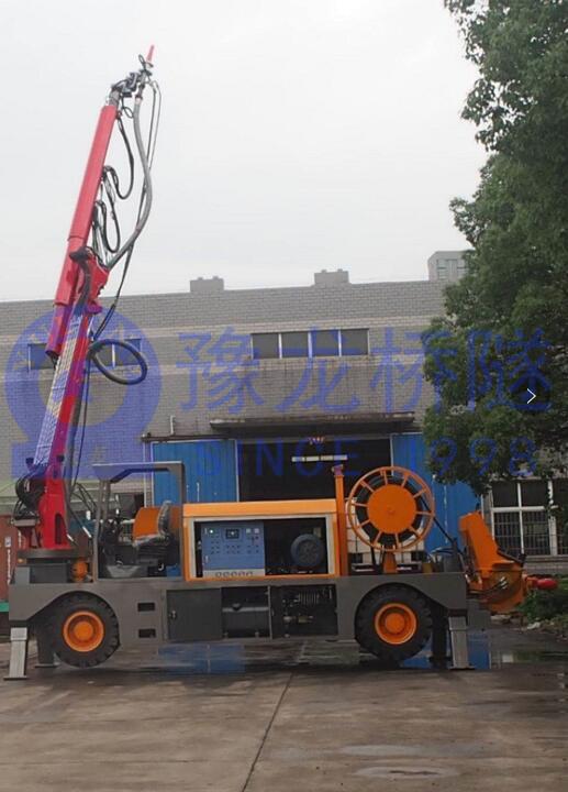 豫龙混凝土湿喷台车机械手现货2