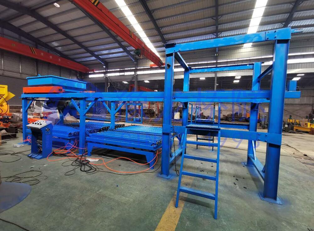 预制构件布料机YLBL-45小型构件预制生产线4