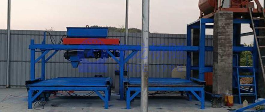 预制构件布料机YLBL-45小型构件预制生产线5