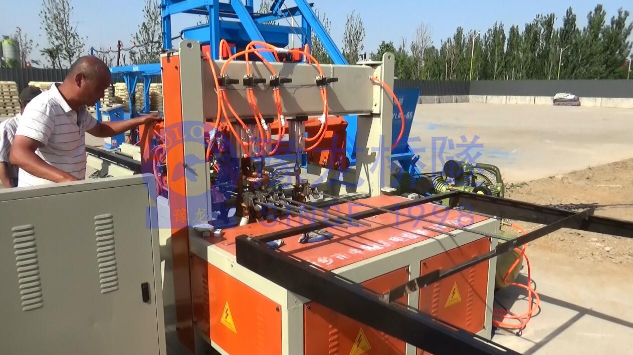 数控钢筋网片排焊机 盖板定制型 焊网机