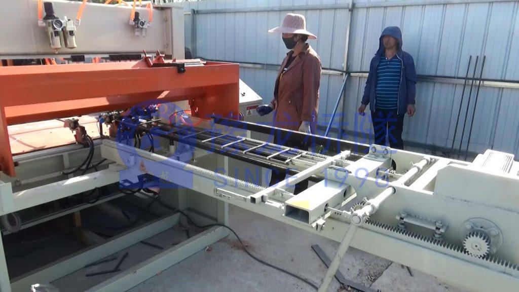 数控钢筋网片排焊机盖板定制型焊网机5